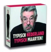 Cd/dvd box Typisch Nederland, Typisch Maarten voor €7,50