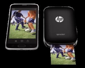 Fotoprinter HP Sprocket zwart voor €99