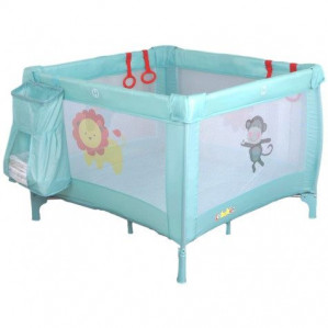 Eco Baby Jungle Mint Inklapbare Box en Campingbed voor €29,99