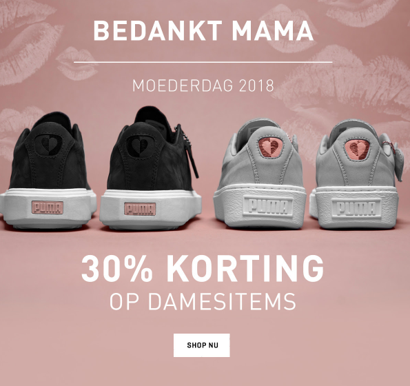 30% korting op alle items voor dames