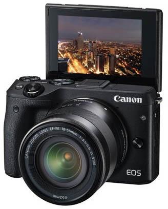 Canon EOS M3 - Digitale camera voor €299