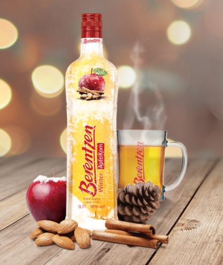 Probeer Berentzen Winter-ApfelKorn 70 cl van €13,99* voor €6,99 dmv cashback