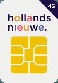 Bij Hollandsnieuwe nu Extra MB/SMS/Min