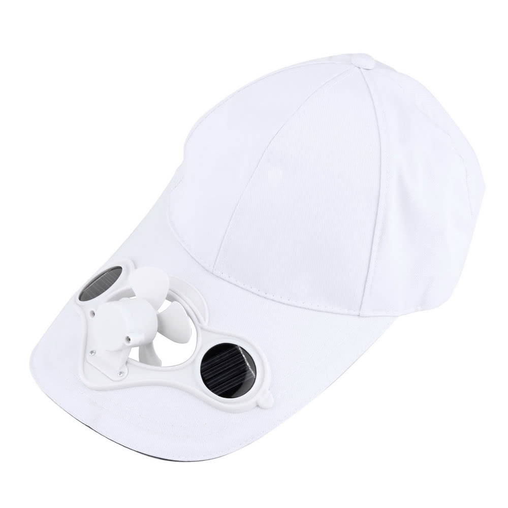 Summer Sport Outdoor Hat Cap with Solar Sun Power Cool Fan voor €5,12