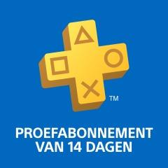 PlayStation®Plus proefabonnement van 14 dagen Gratis