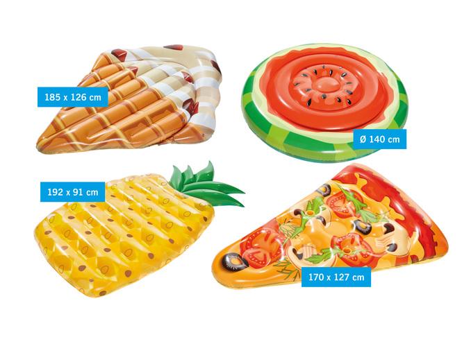 Luchtbed Ananas, Pizza, Watermeloen of ijsje voor €8,99