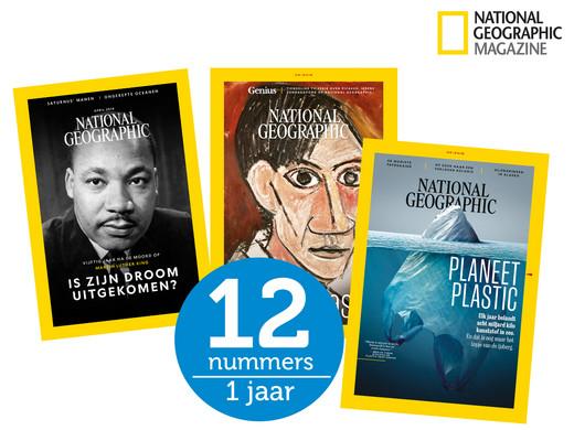 National Geographic Magazine Jaarabonnement voor €29,95