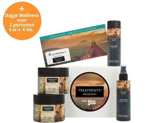 Treatments® Ceylon box inclusief dagentree sauna voor €34,95