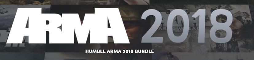 Humblebundle ARMA 2018 Bundle vanaf €0,86