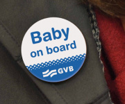 Baby on board button Gratis