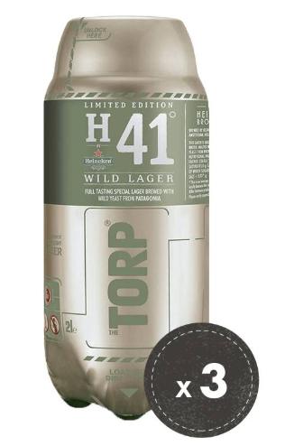 3 Torp bierfusten voor €13,98