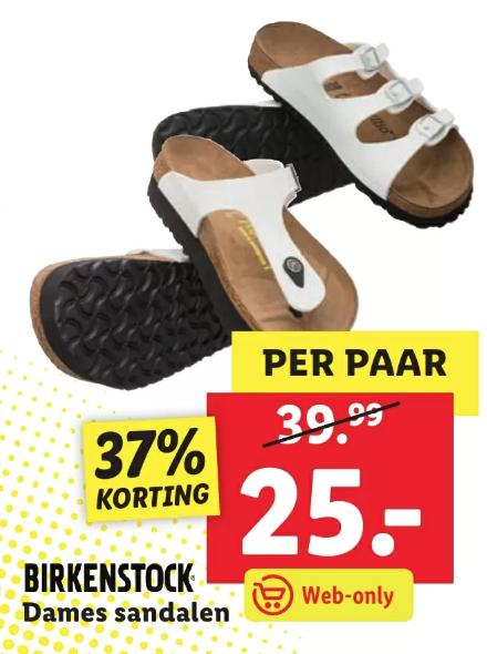Birkenstock sandalen voor €25