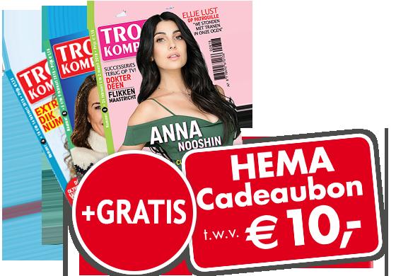Een half jaar Troskompas met Hema cadeaubon voor €10