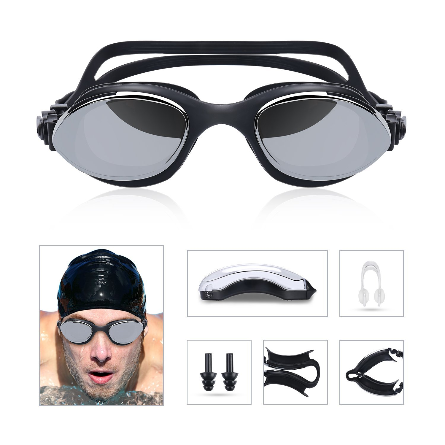 Duikbril Anti-fog 100% UV protection voor €5,88