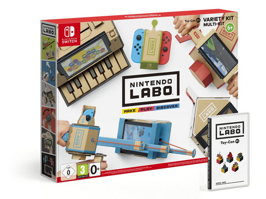 Nintendo Switch: Labo Variety Kit voor €39,95