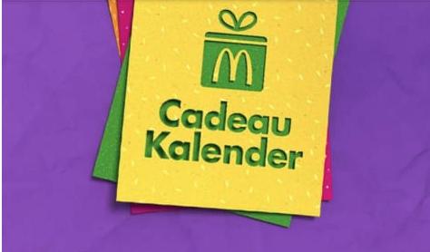 Mcdonalds Cadeau Kalender 2018 Gelekt