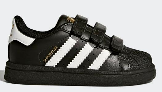 Adidas superstar peuterschoenen voor €27,48