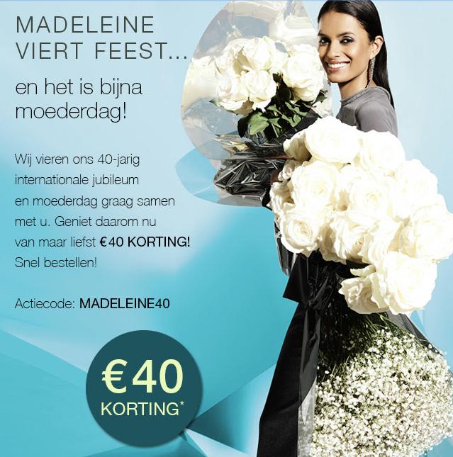 40 euro korting op je bestelling