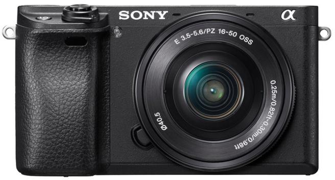 Sony Alpha A6300 Body Only Digitale Mirrorless Cameras - Zwart voor €699