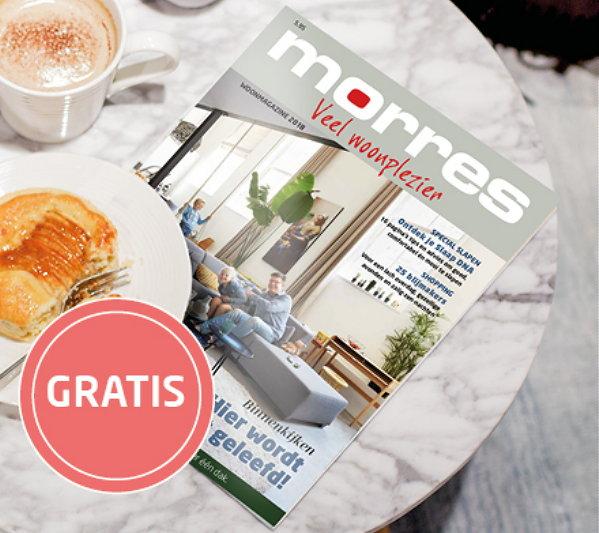 Morres luxe Inspiratiemagazine 2018 editie Gratis