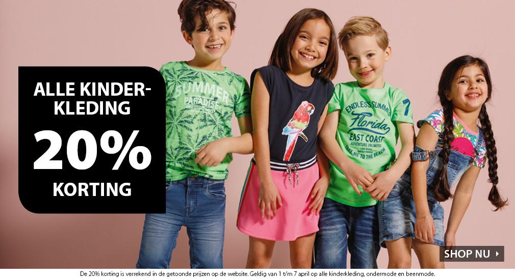 Kinderkleding Korting.Nu 20 Korting Op Alle Kinderkleding Bij Terstal