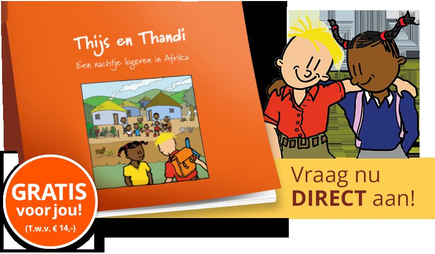 Kinderboekje Thijs en Thandi Gratis