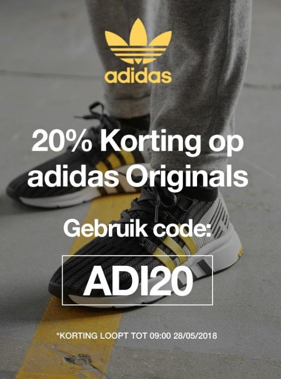 20% extra korting op alle Adidas Originals