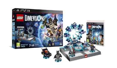 Lego Dimensions Starterpack XBOX 360-PS3-Wii U voor €14.99