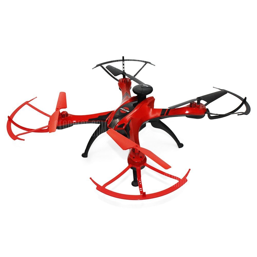FEILUN FX176C1 GPS Brushed RC Drone - RTF - RED 1MP CAMERA voor €59,18