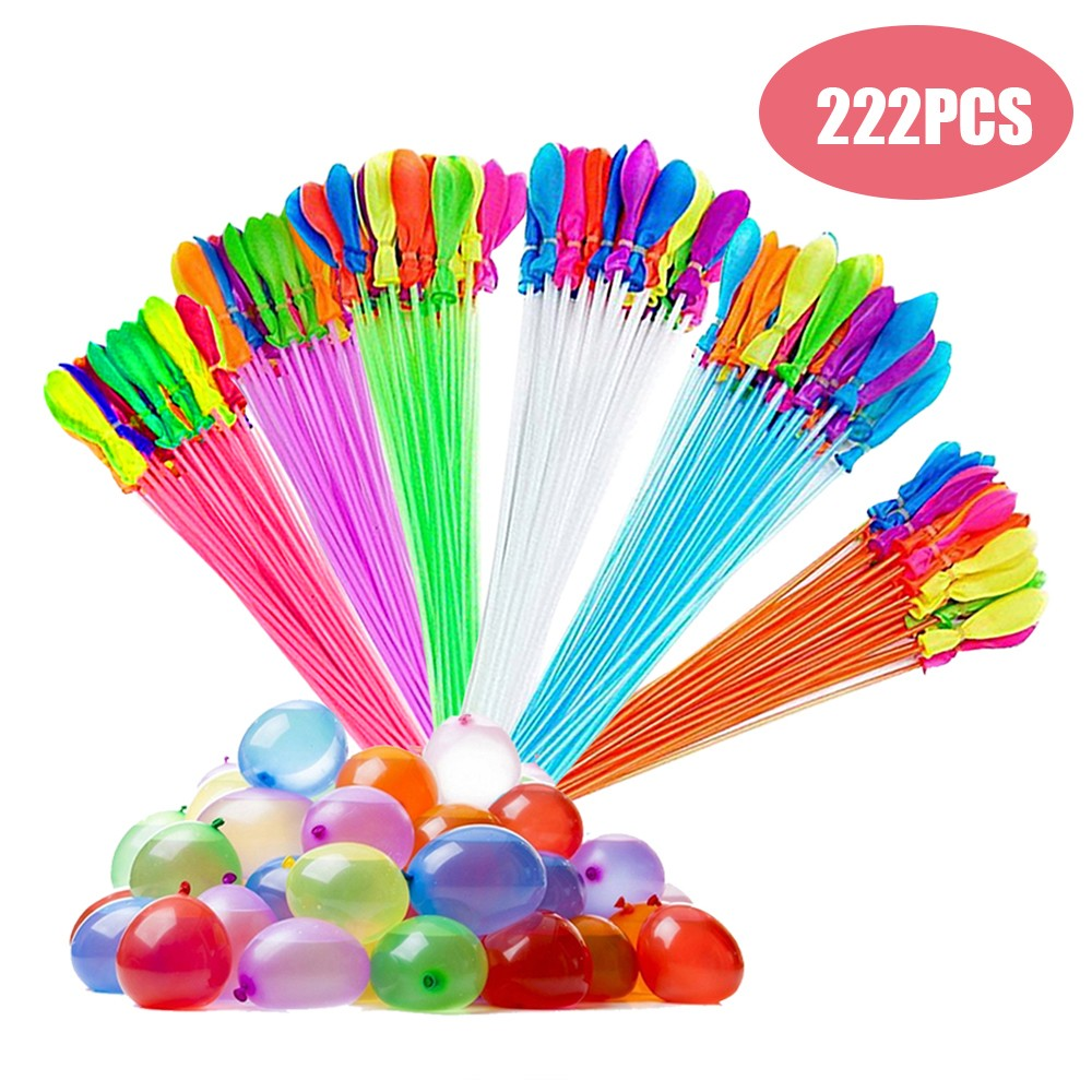 222pcs Bunch Balloons Magic Colorful Water Balloons voor €3