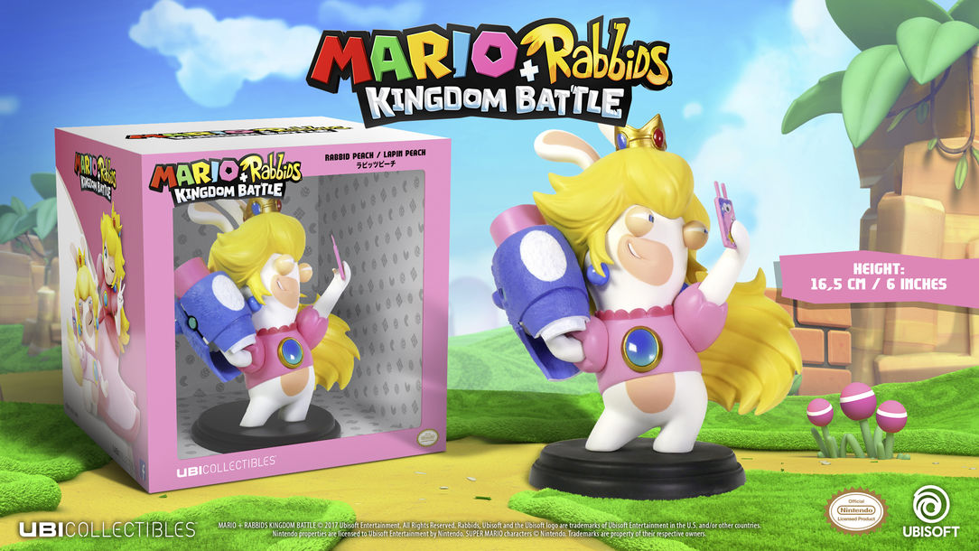 Mario+Rabbits Kingdom Battle figurines tot 78% korting