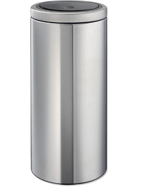 Brabantia Touch bin flat top - 30 liter - matt steel voor €49,50