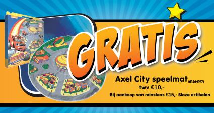 GRATIS Axel City speelmat