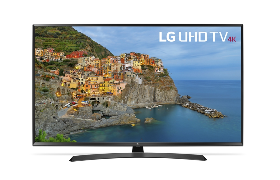 LG 55UJ635V 4K LED TV voor €488