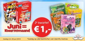 Het 2e kwartet voor €1