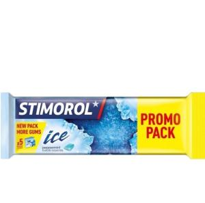 5 pack Stimorol promo voor €1,40