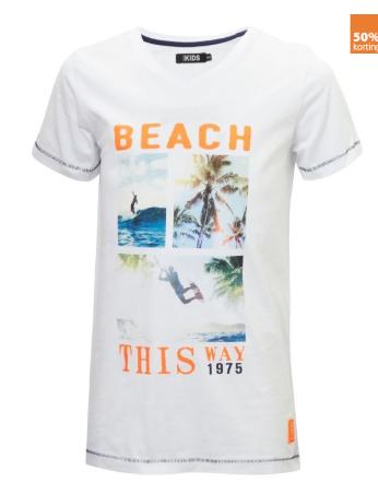 Diverse jongens en meisjes t-shirts met 50% korting