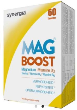 Doosje met 60 magnesiumtabletten voor €2,90 alleen levering in België