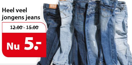 Jongens jeans voor €5