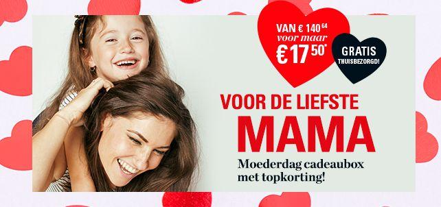 Moederdag Cadeaubox voor €17,50