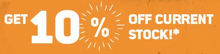 10% korting op alles in de sale