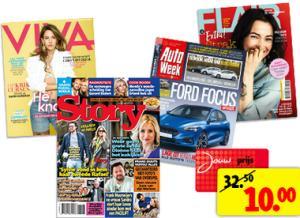 Diverse tijdschriften 10 weken voor €10