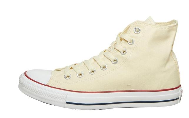 Converse CT All Star Hi Sneakers Gemeleerd Lichtgrijs voor €17,95