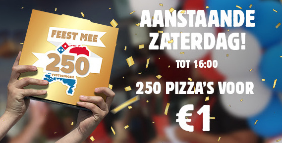 Domino's Pizza €1