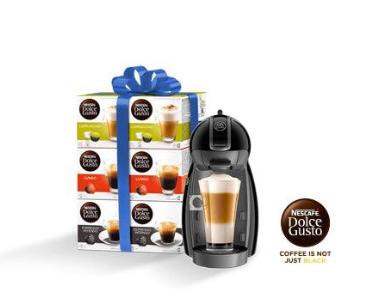 Dolce Gusto Piccolo koffiemachine + 6 doosjes NESCAFÉ Dolce Gusto voor €49,98