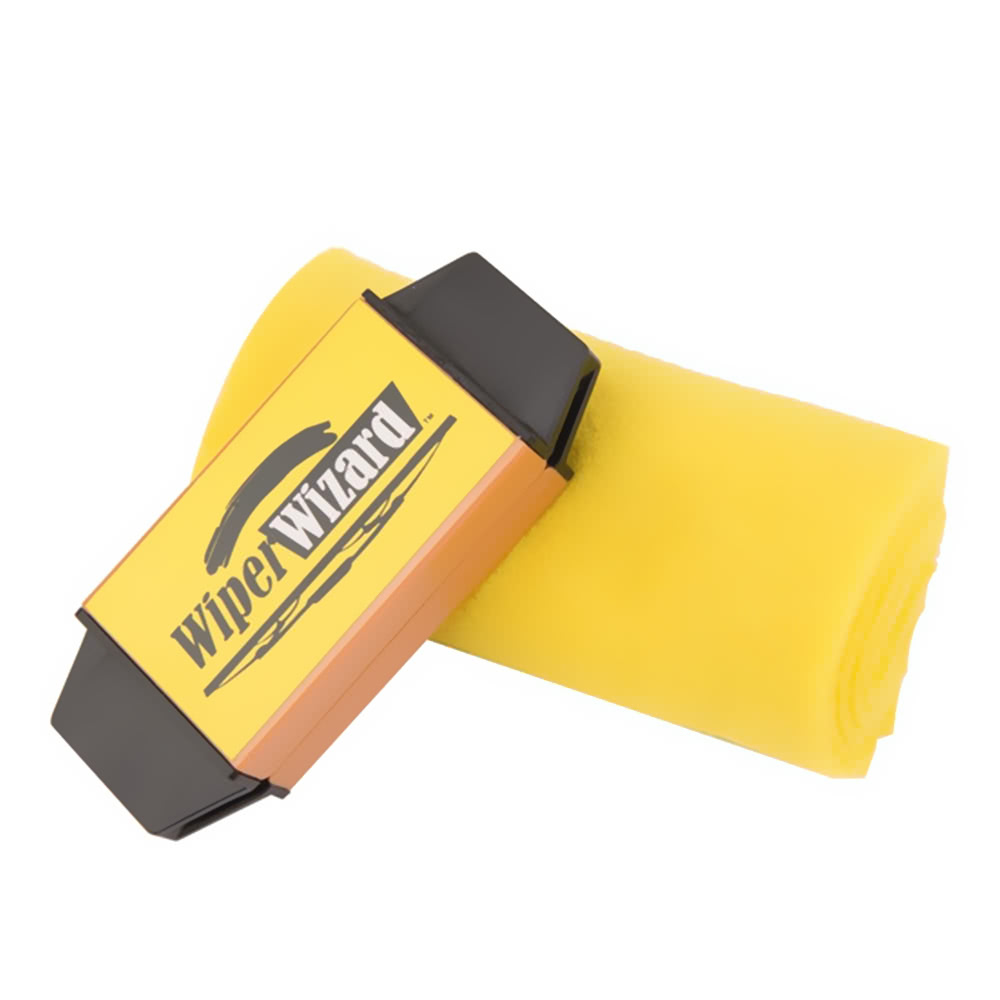 5 Wizard Wipes Car Wiper Blades Cleaning Brush voor €3 d.m.v. code