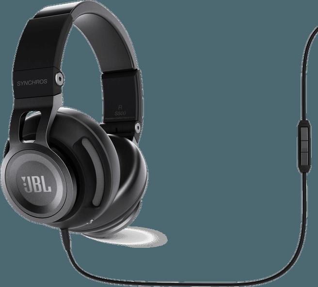 JBL Synchros S500 - Over-ear koptelefoon - Zwart voor €63