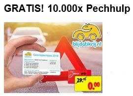 Gratis abonnement PechHulp voor Kruidvat kaarthouders