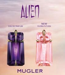 Agua de colonia Alien de Thierry Mugler muestra gratuita en