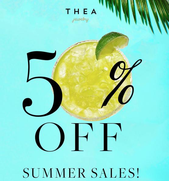 50% korting op de summer sale
